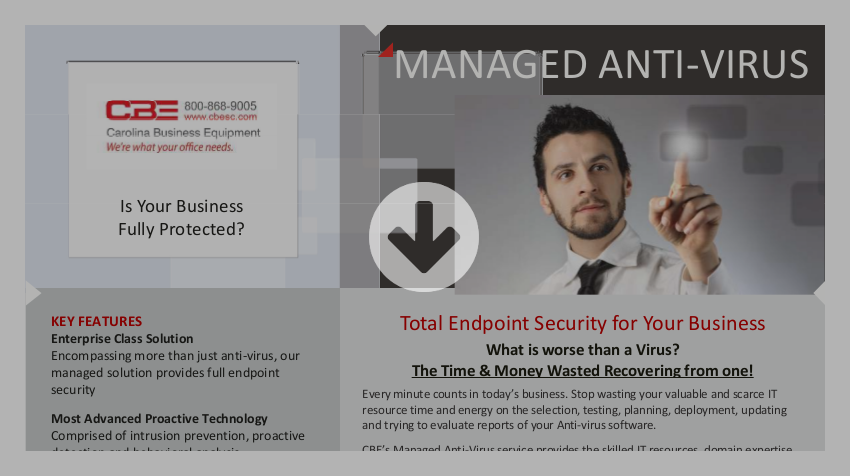 CBE Managed Antivirus Brochure Download