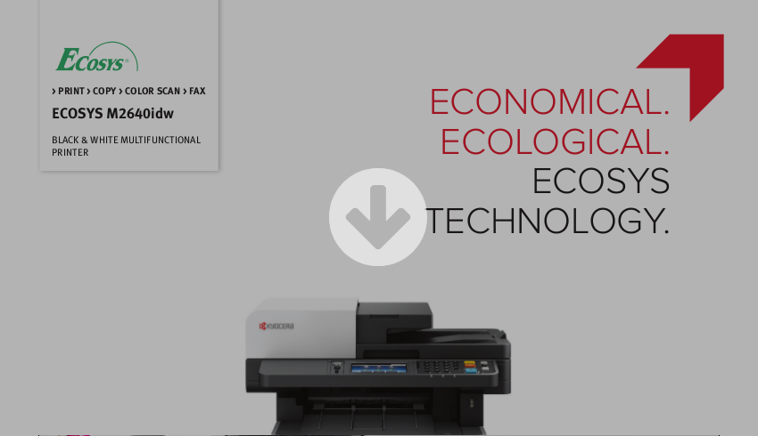 Kyocera ECOSYS M2640idw Brochure Download